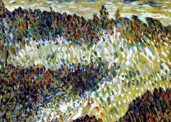Fritz Bleuil. Danish landscape
