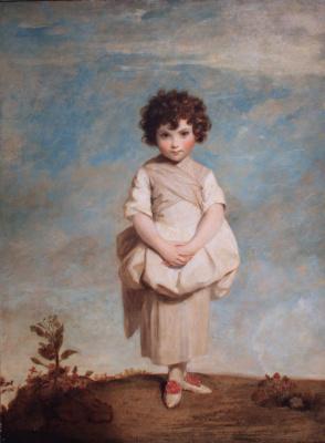 Joshua Reynolds. Collina. Lady Gertrude Fitzpatrick