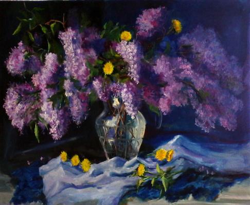 Olga Suncheleeva. Lilac