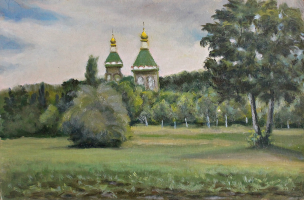 Victor Andreevich Chepurko. Temple at Mashuk