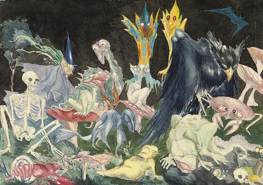 Leonora Carrington. Fantastic creatures