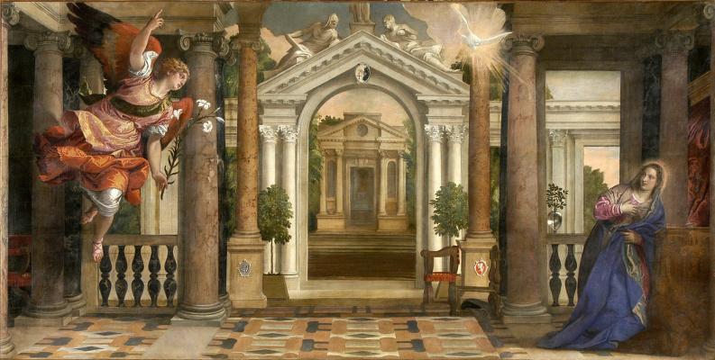Паоло Веронезе. Благовещение Девы Марии
