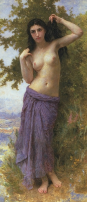 William-Adolphe Bouguereau. Roman beauty