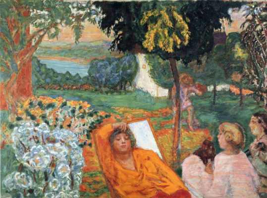 Pierre Bonnard. The evening