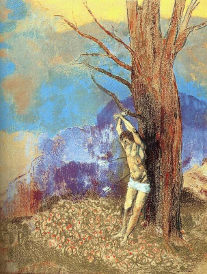 Odilon Redon. Saint Sebastian