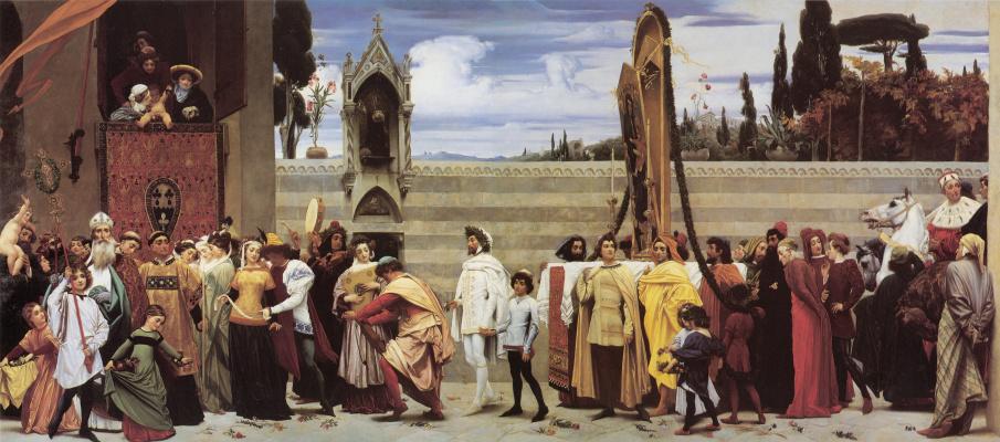 Frederic Leighton. Madonna Cimabue