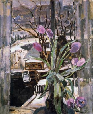 Ян Слёйтерс. Натюрморт с цветами