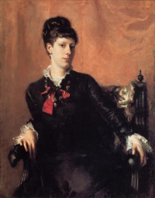 John Singer Sargent. Miss Frances Sherborne Ridley Watts