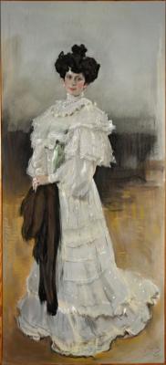 Valentin Aleksandrovich Serov. Portrait Of E. A. Krasilschikova