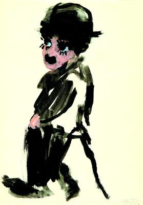 Grigory Borisovich Inger. Charlie Chaplin