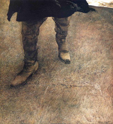 Andrew Wyeth. Trampled weeds