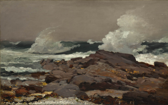 Winslow Homer. Eastern point