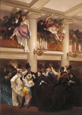 Пьер Франсуа Эжен Жиро. Бал в Опере