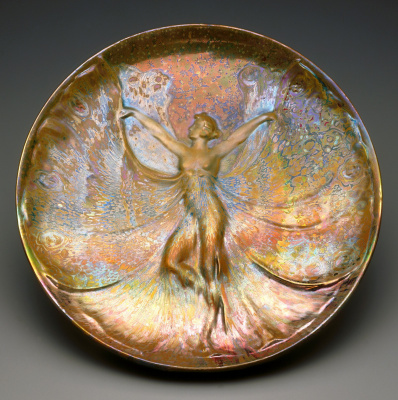 Lucien Levi-Durme. Decorative dish. 1900