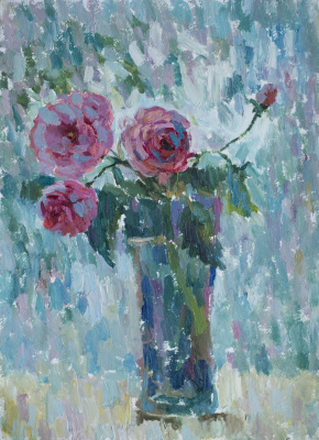 Tanika Yezhova. Pink and blue