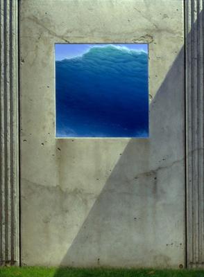 Майкл Уилан. Синий квадрат