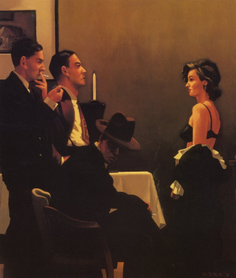 Jack Vettriano. We can't tell right from wrong