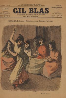 Theophile-Alexander Steinlen. Dancers