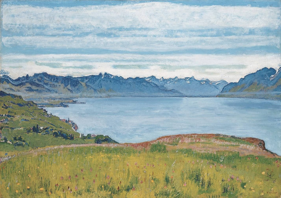 Ferdinand Hodler. Lake Geneva