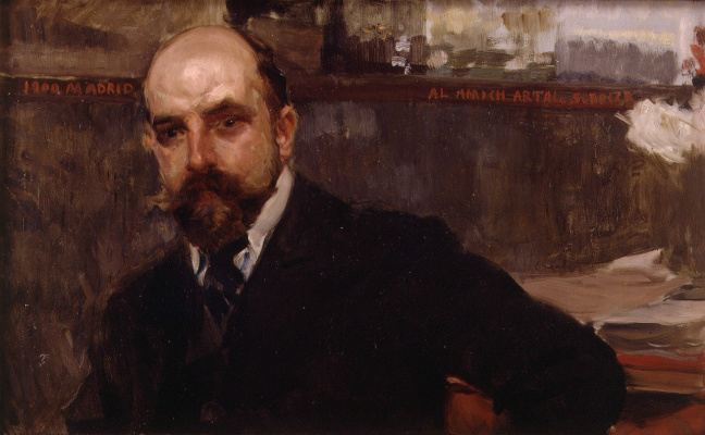 Joaquin Sorolla. Jose Artal