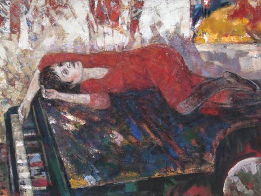 Ашот Ваникович Хачатрян. Портрет Полины