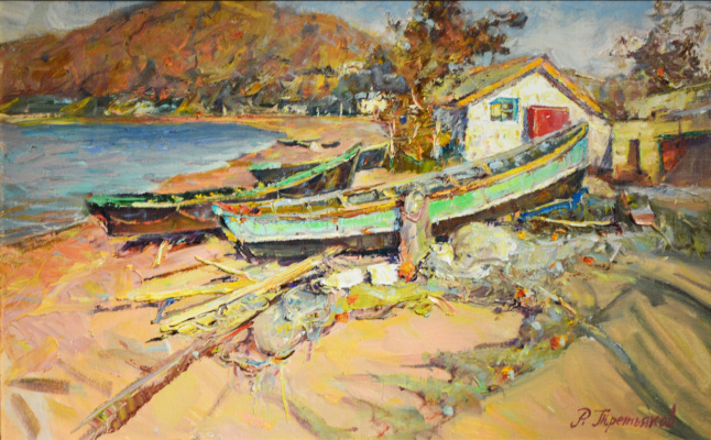 Roman Tretyakov. Fishing village