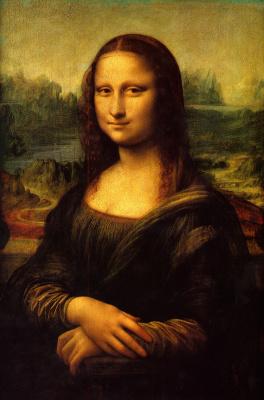 Leonardo da Vinci. Mona Lisa (La Gioconda)
