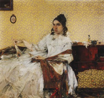 Nikolay Feshin. Portrait Of N. M. Sapozhnikova