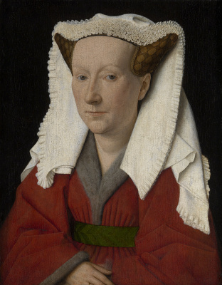 Jan van Eyck. Margaret van Eyck, artist's wife
