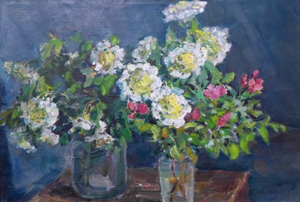 Vasily Fadeevich Demin. Flowers