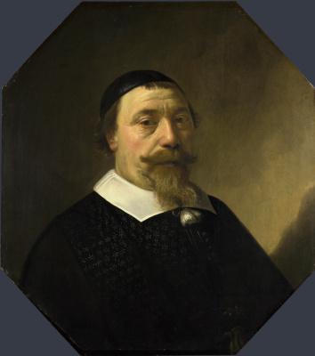 Альберт Якобс Кейп. Портрет бородатого мужчины