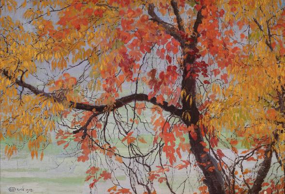 Edward Perch. Autumn leaves
