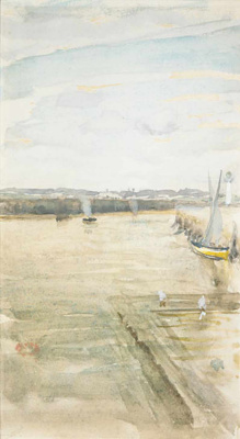 James Abbot McNeill Whistler. The scene at mercy