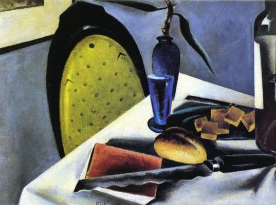 Престон Дикинсон. Натюрморт с желто-зеленым стулом
