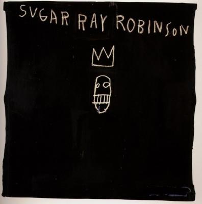 Jean-Michel Basquiat. Cute Ray Robinson
