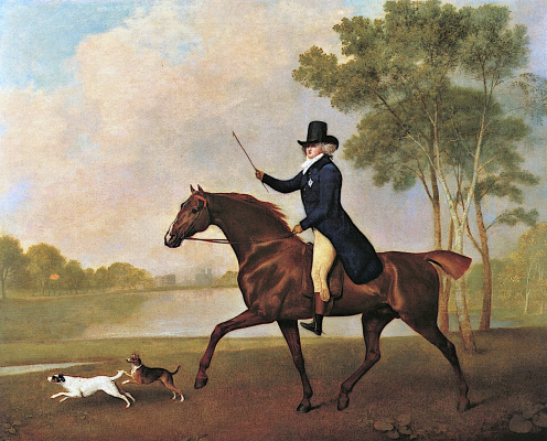 George Stubbs. The Prince Of Wales