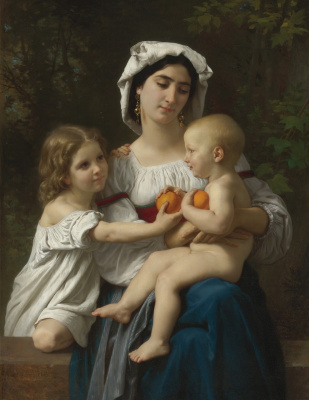 Вильям Адольф Бугро. Апельсины