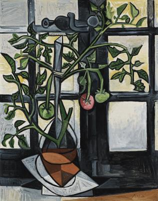 Пабло Пикассо. Куст помидоров