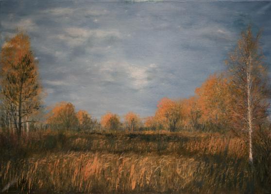 Albert Safiullin. Autumn landscape