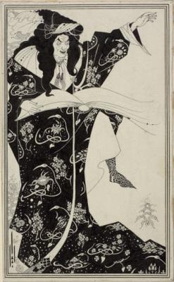 Aubrey Beardsley. Sorcerer Virgil
