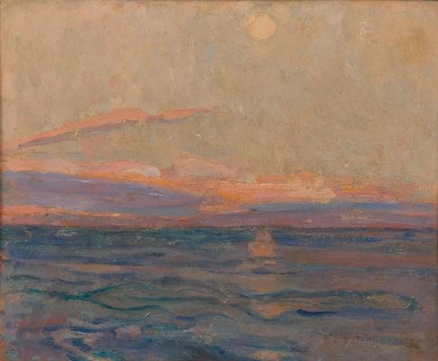 Jan Stanislavsky. Sea view