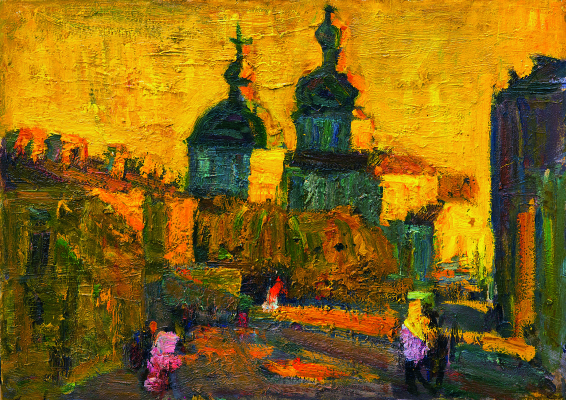 Анатолий Криволап. Церковь