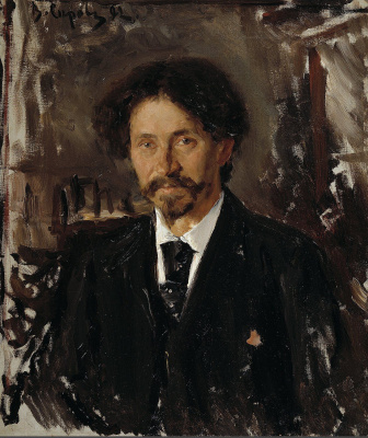 Valentin Aleksandrovich Serov. Portrait of the artist Ilya Repin