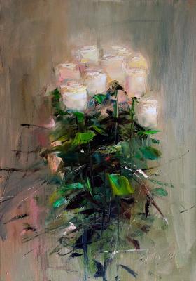 Anastasia Arsenova. White roses