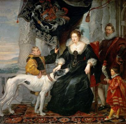 Peter Paul Rubens. Alateya Talbot, Countess of Shrewsbury