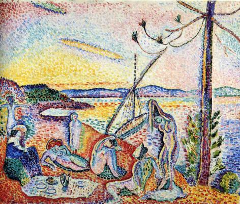 Henri Matisse. Luxury, peace and pleasure