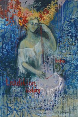 "Tanya Vasilenko. Traditions. From ""Time"" artworks series"
