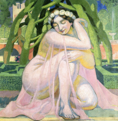 Maurice Denis. Bathing Bathsheba