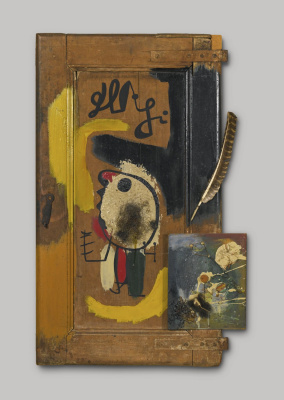 Joan Miro. A door. (An object)