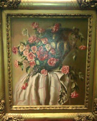Yuri Vladimirovich Belov. Flowers on the table